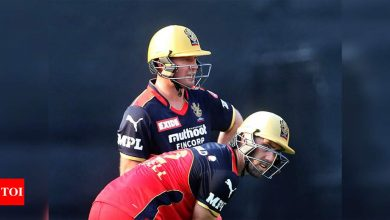 IPL 2021: De Villiers, Maxwell fire all-round RCB to 38-run win against KKR | Cricket News - Times of India