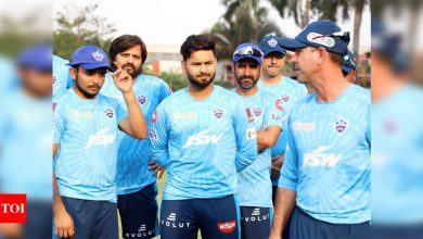 IPL 2021: Delhi Capitals sweat it out ahead of first game against CSK   Cricket News - Times of India