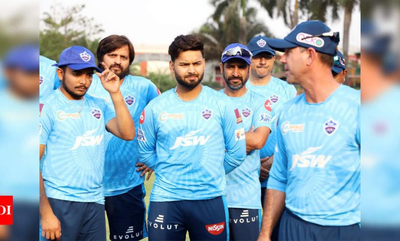 IPL 2021: Delhi Capitals sweat it out ahead of first game against CSK | Cricket News - Times of India