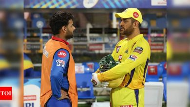IPL 2021: It'll be extra special to walk out for the toss with MS Dhoni, says Rishabh Pant   Cricket News - Times of India