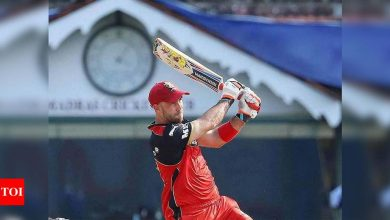 IPL 2021: Rejuvenated Glenn Maxwell leads RCB's title charge | Cricket News - Times of India