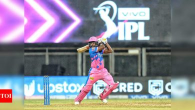 IPL 2021: We lost too many wickets in the middle overs, says RR skipper Sanju Samson | Cricket News - Times of India