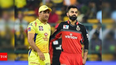 IPL Live Score 2021, CSK vs RCB: Chennai Super Kings, Royal Challengers Bangalore set for high-voltage clash  - The Times of India