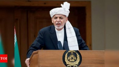 India, China factor in regional prosperity; moment of choice for Pak: Afghan's Ghani - Times of India