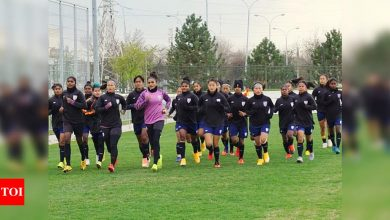 Indian women's football team gets ready for Belarus challenge | Football News - Times of India