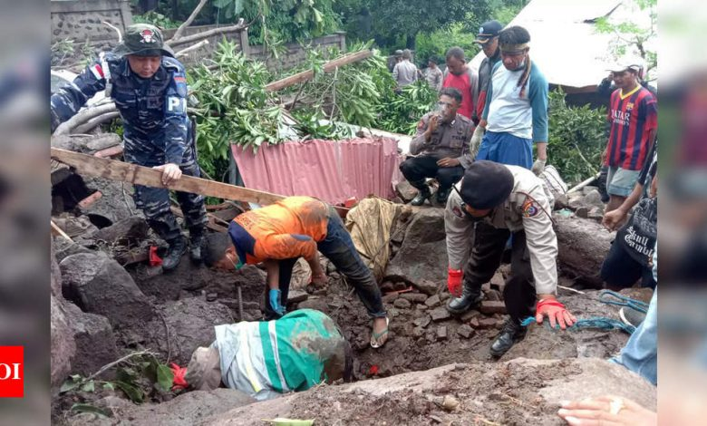 Indonesia, East Timor flood death toll surges past 160 - Times of India