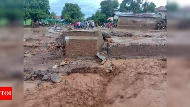 Indonesia flash floods kill 44, toll expected to rise - Times of India