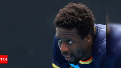 Injured Gael Monfils limps out of Monte Carlo Masters | Tennis News - Times of India