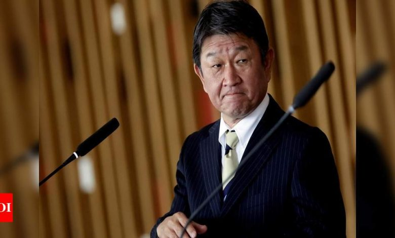 Japan expresses concerns to China about territorial waters, Hong Kong, Uighur situation - Times of India