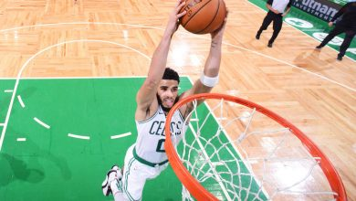 Jayson Tatum wishes young son could have seen 53-point night