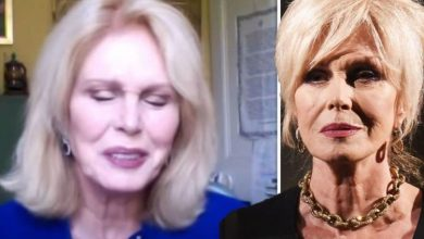 Joanna Lumley talks 'pact' with son over boarding school 'It hurts me more than I can say'