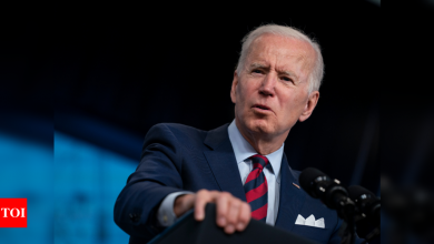 Joe Biden's first budget fuels health, education spending in sharp change from Trump - Times of India