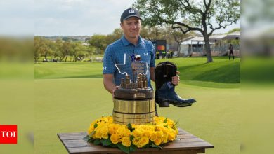 Jordan Spieth ends title drought at Texas Open just in time for Masters   Golf News - Times of India