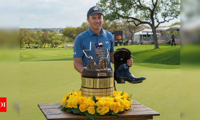 Jordan Spieth ends title drought at Texas Open just in time for Masters | Golf News - Times of India