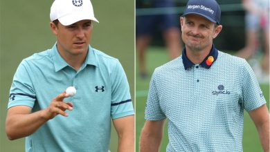 Justin Rose clinging to Masters lead with Jordan Spieth at his heels
