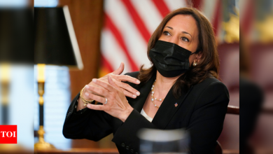 Kamala Harris planning first trip abroad to Mexico, Guatemala - Times of India