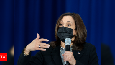 Kamala Harris to tell UN body it's time to prep for next pandemic - Times of India