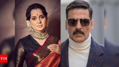 """Kangana Ranaut says she got a call from Akshay Kumar and others commending her for 'Thalaivi'; adds, """"They can't openly praise, movie mafia terror"""" - Times of India"""