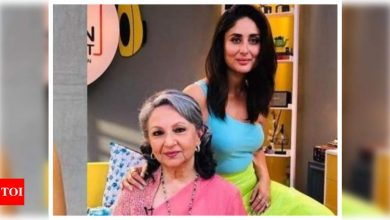 Kareena Kapoor Khan is all praise for mother-in-law Sharmila Tagore, calls her the most graceful woman to have walked on earth - Times of India