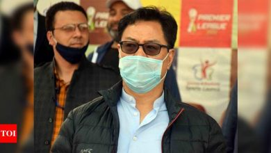 Kiren Rijiju tests positive for COVID-19, says he is feeling 'fit and fine' | More sports News - Times of India