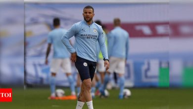 Kyle Walker:  Manchester City's Kyle Walker racially abused online after League Cup win | Football News - Times of India