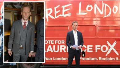 Laurence Fox turns down Celebrity Gogglebox amid mayoral campaign 'People are so angry'