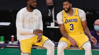 LeBron James, Anthony Davis' Lakers returns on the horizon