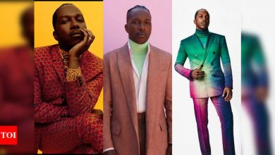 Leslie Odom Jr is fashion's new favorite boy - Times of India