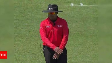 Like players, umpires too have form and I would like to make the most of it: Nitin Menon | Cricket News - Times of India