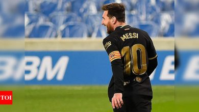 Lionel Messi happy again but Barca wonder if this Clasico will be his last   Football News - Times of India