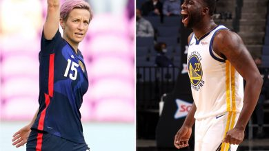 Megan Rapinoe slams  Draymond Green's women's sports diatribe: 'Showed your whole a–'