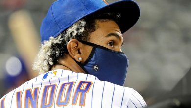 Mets' Francisco Lindor taking and giving advice as he settles into season