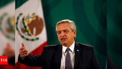 Mexican president Andres Manuel Lopez Obrador now says he'll get AstraZeneca vaccine - Times of India