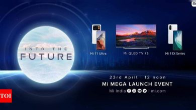 Mi 11 Ultra, Mi 11X series and Mi QLED TV to launch in India today at 12pm: How to watch live stream - Times of India