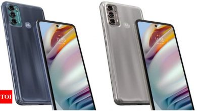Moto G60, G40 Fusion with 6.8-inch FHD+ display, Qualcomm Snapdragon 732 SoC launched in India: Price, availability and more - Times of India