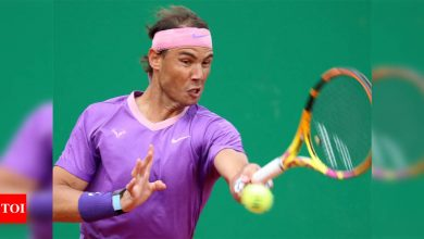 Nadal makes winning return at Monte Carlo Masters   Tennis News - Times of India