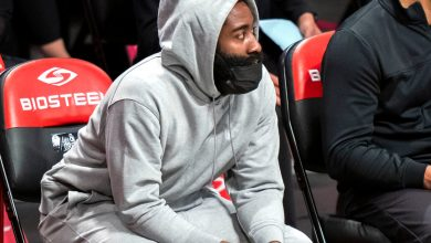 Nets' James Harden 'progressing well' in injury rehab
