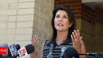Nikki Haley says she'll back Trump, stand down if he runs in 2024 - Times of India