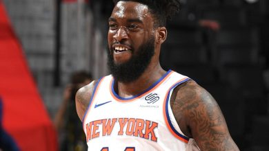 Norvel Pelle shows new Knicks teammates his toughness in feel-good win