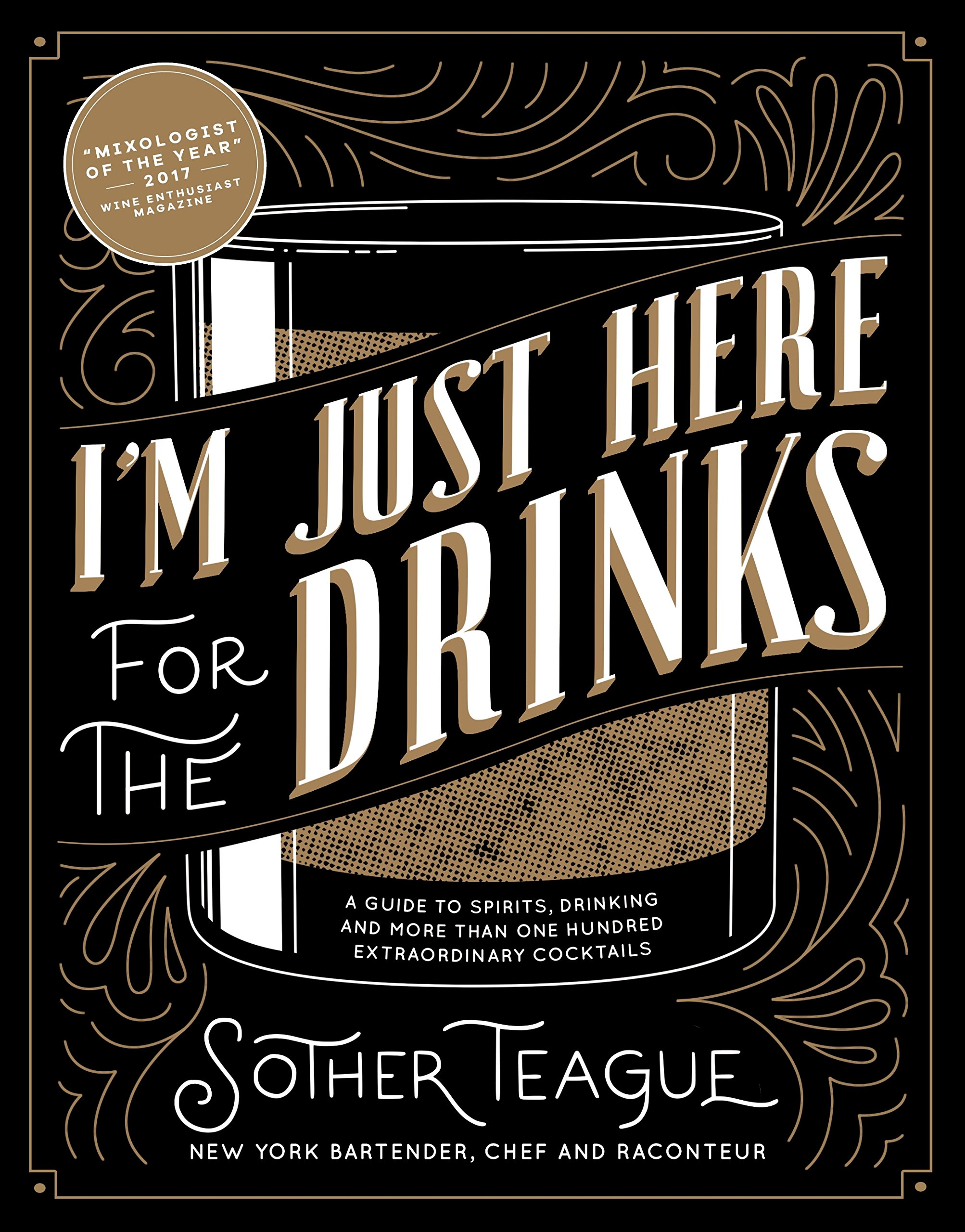 Im just here for the drinks book amazon