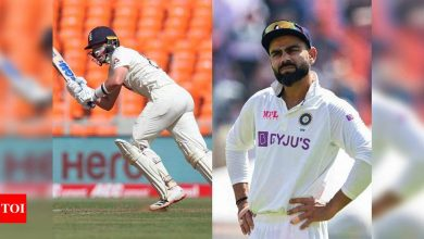 Ollie Pope reveals Virat Kohli's spinning tracks warning during first Test | Cricket News - Times of India