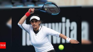 Olympic-bound tennis ace Sania Mirza included in TOPS after gap of four years | Tennis News - Times of India