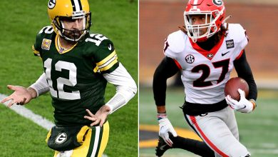 Packers don't get Aaron Rodgers help with Eric Stokes NFL Draft pick