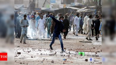 Pakistan news: Pakistan deploys paramilitary forces to quell deadly Islamist protests   World News - Times of India