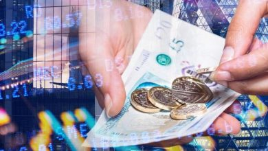 Pound euro exchange rate dampened by 'bad news' prediction just weeks ahead of May 17