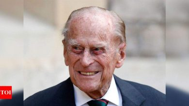 Prince Philip, husband of Queen Elizabeth II dies at 99 - Times of India