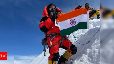 Priyanka Mohite:  Maharashtra's Priyanka Mohite scales Mount Annapurna, world's 10th highest peak | More sports News - Times of India