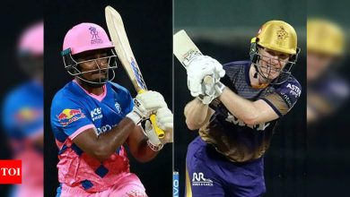RR vs KKR Live Score, IPL 2021: Knight Riders hope to revive campaign against beleaguered Royals  - The Times of India