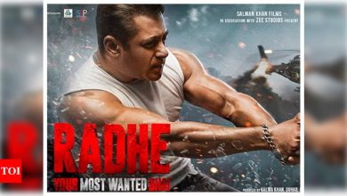 'Radhe: Your Most Wanted Bhai' trailer: Salman Khan promises an action-packed Eid extravaganza - Times of India