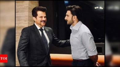Ranveer Singh collaborates with his 'most admired screen idol' Anil Kapoor for a project; calls him a 'legend of an artist' - Times of India